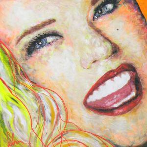 Anna Nicole Smith por Olan