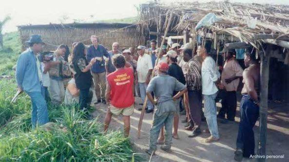 Dantas em uma operação contra a escravidão moderna no Pará